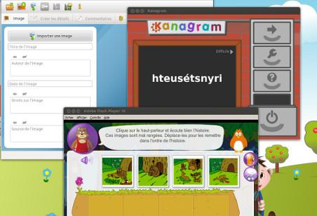 L'interface École Numérique Pour Tous 2.0