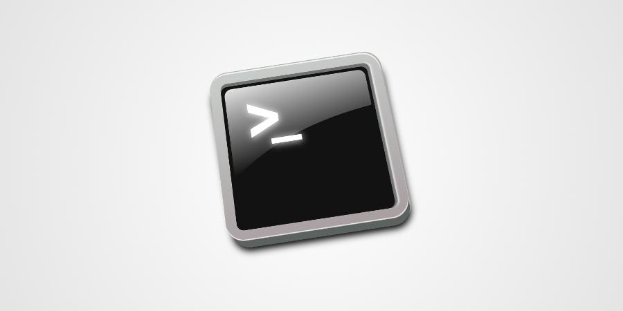 Logo console Linux