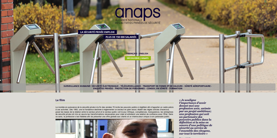 Référence ANAPS