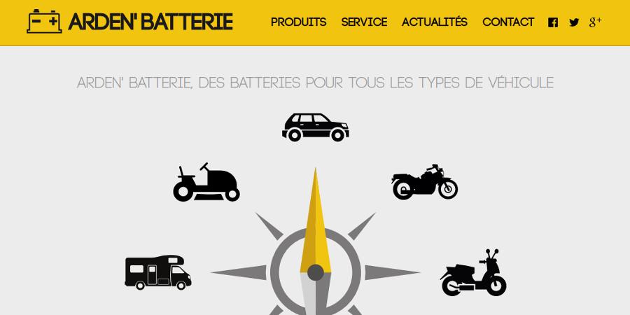 Référence Arden' Batterie